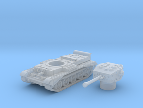 Cromwell IV Tank (British) 1/200 in Smooth Fine Detail Plastic