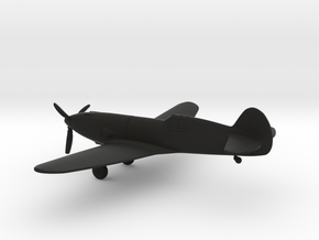 Curtiss YP-37 in Black Strong & Flexible: 1:144