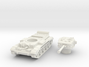 Cromwell IV Tank (British) 1/87 in White Strong & Flexible