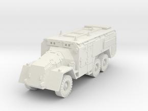 AEC Armoured Command Vehicle (British) 1/87 in White Natural Versatile Plastic