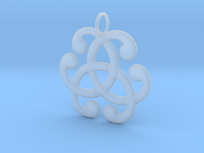 Health Harmony Therapy Celtic Knot in Smooth Fine Detail Plastic: Medium