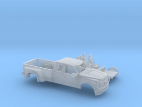 1/87 2017 Ford F-Series Ext. Cab Dually Kit in Frosted Ultra Detail