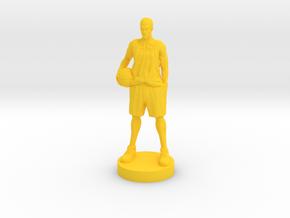 Slam Dunk Sakuragi 25mm in Yellow Processed Versatile Plastic