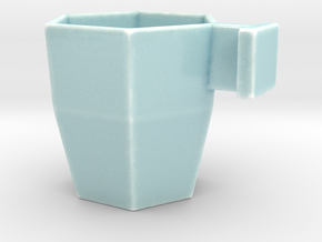 Matti Mug in Gloss Celadon Green Porcelain