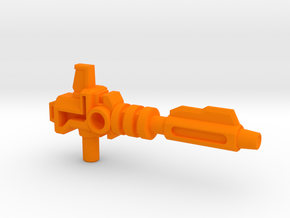 Prime's Laser Gun, 5mm in Orange Processed Versatile Plastic: Medium