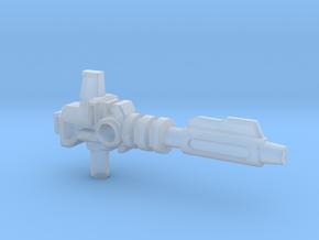 Prime's Laser Gun, 5mm in Smooth Fine Detail Plastic: Medium