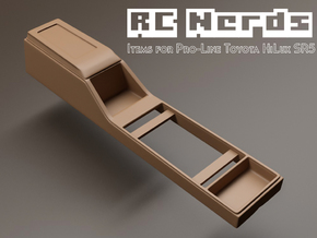 RCN022 Middle console car panel in White Strong & Flexible