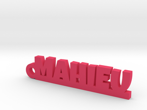 MAHIEU Keychain Lucky in Pink Processed Versatile Plastic