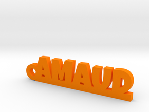 AMAUD Keychain Lucky in Orange Processed Versatile Plastic