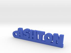 ASHTON Keychain Lucky in Blue Processed Versatile Plastic