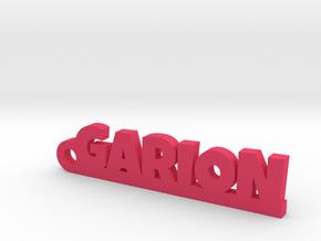 GARION Keychain Lucky in Natural Brass