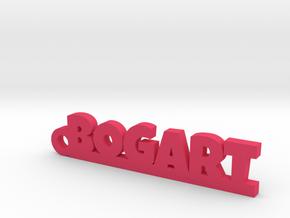 BOGART Keychain Lucky in Natural Brass