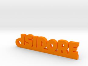 ISIDORE Keychain Lucky in Orange Processed Versatile Plastic