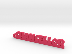 CHANCELLOR Keychain Lucky in Smooth Fine Detail Plastic