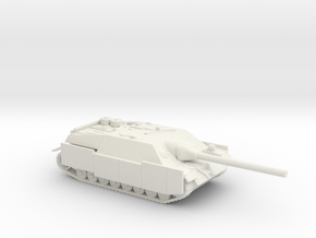 Jagdpanzer IV tank (Germany) 1/100 in White Strong & Flexible