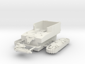 1/72 T1 HMC Howitzer Motor Carriage in White Strong & Flexible