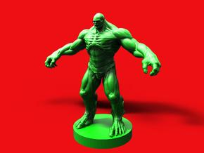 Abomination marvel (base) in Smooth Fine Detail Plastic: 1:72