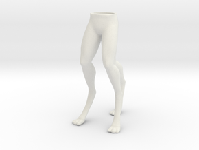 Arex Legs 1:6 scale in White Strong & Flexible