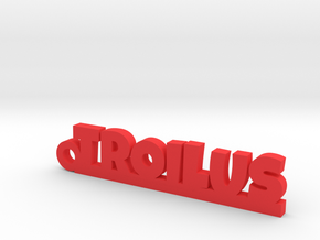 TROILUS Keychain Lucky in Red Processed Versatile Plastic