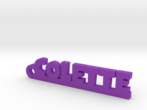 COLETTE Keychain Lucky in Purple Processed Versatile Plastic
