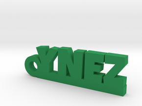 YNEZ Keychain Lucky in Green Strong & Flexible Polished