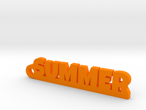 SUMMER Keychain Lucky in 14k Gold Plated Brass
