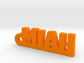 MIAH Keychain Lucky in Orange Processed Versatile Plastic