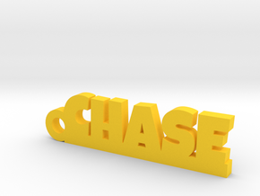CHASE Keychain Lucky in Yellow Processed Versatile Plastic