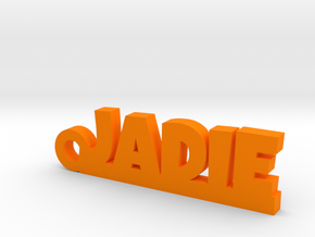 JADIE Keychain Lucky in Orange Processed Versatile Plastic