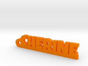 CHERINE Keychain Lucky in Orange Processed Versatile Plastic