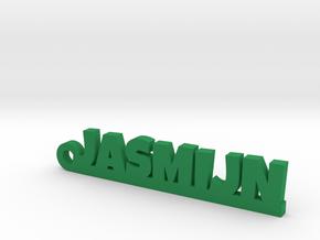 JASMIJN Keychain Lucky in Green Processed Versatile Plastic