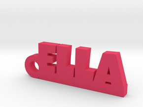 ELLA Keychain Lucky in Pink Processed Versatile Plastic