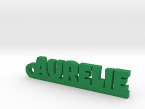 AURELIE Keychain Lucky in Green Processed Versatile Plastic