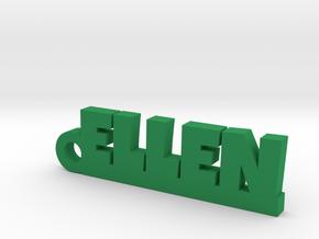 ELLEN Keychain Lucky in Green Processed Versatile Plastic