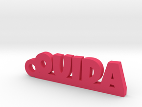 OUIDA Keychain Lucky in Pink Processed Versatile Plastic