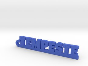 TEMPESTE Keychain Lucky in Blue Processed Versatile Plastic