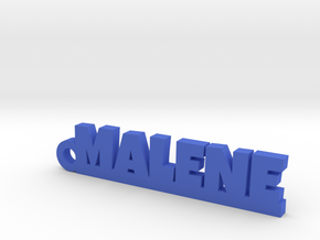 MALENE Keychain Lucky in Blue Processed Versatile Plastic