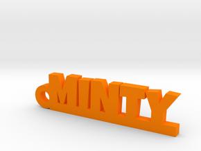 MINTY Keychain Lucky in Orange Processed Versatile Plastic