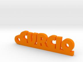 CURCIO Keychain Lucky in Orange Processed Versatile Plastic