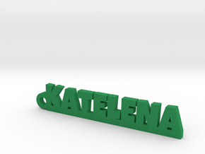 KATELENA Keychain Lucky in Green Strong & Flexible Polished