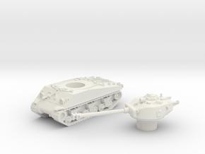 M4 Sherman Tank (Usa)  1/100 in White Natural Versatile Plastic