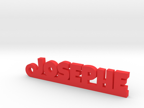 JOSEPHE Keychain Lucky in Red Processed Versatile Plastic