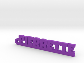 PIERRETTE Keychain Lucky in Purple Processed Versatile Plastic