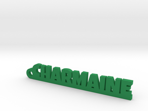 CHARMAINE Keychain Lucky in Green Processed Versatile Plastic