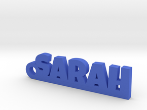 SARAH Keychain Lucky in Blue Processed Versatile Plastic