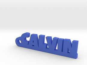 CALVIN Keychain Lucky in Blue Processed Versatile Plastic