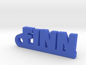 FINN Keychain Lucky in Blue Processed Versatile Plastic