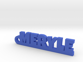 MERYLE Keychain Lucky in Polished Bronzed Silver Steel