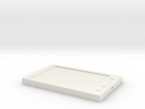 Samsung Galaxy Tab 4  in White Natural Versatile Plastic