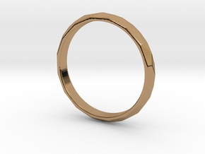 Audrey Hepburn's wedding ring  in Polished Brass: 6.5 / 52.75